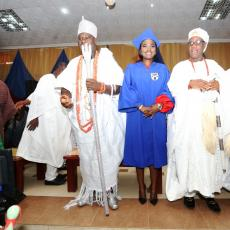 Afe Babalola University Induction Ceremony of its Pioneer 43 Medical Doctors_10