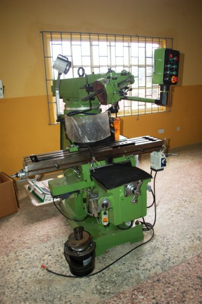 15. One of the Milling Machines