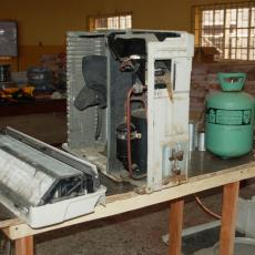 5. A section of the AC and Refrigeration Lab