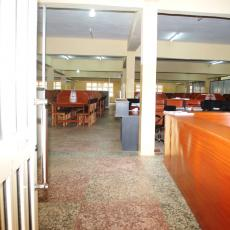 7. Entrance to Olu Ayoola Law Library