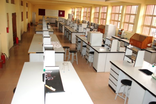 15. A wing of the Science Lab