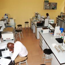 2. A section of Biology Lab