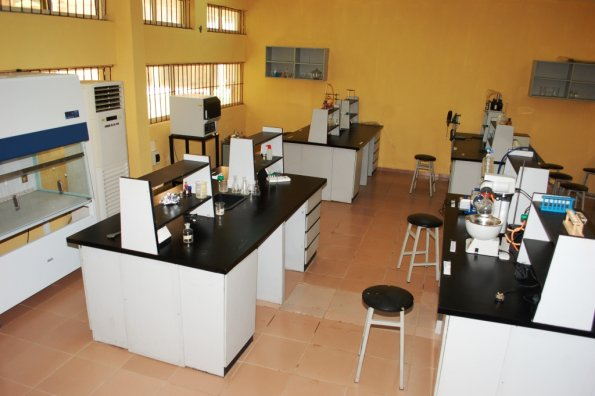 7. A section of Chemistry Lab